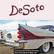 DeSoto with tail fins